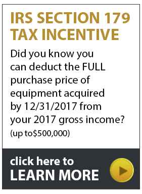2017 section 179 tax incentive